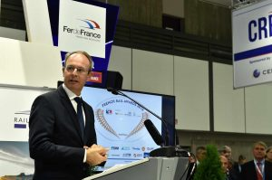 Bruno Lanternier (BusinessFrance Allemagne) pendant son allocution