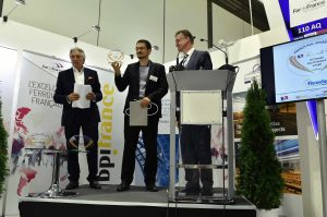 Alain Bullot récompense la société Flexelec